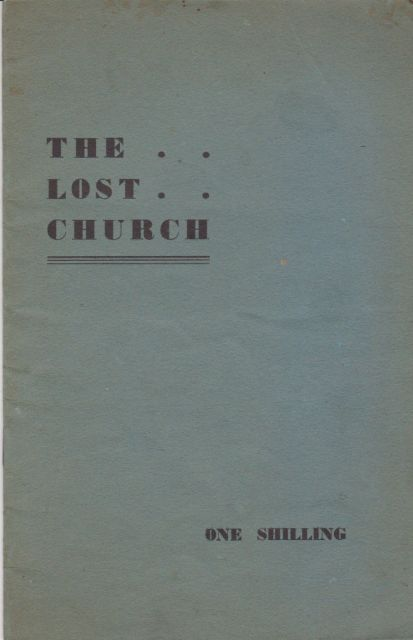 The Lost Church T.F.G. Dexter