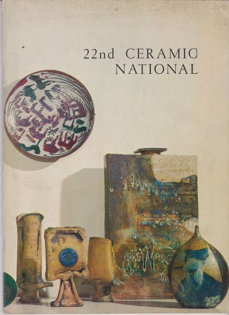 22nd Ceramic National Exhibition - A Survey of Contemporary Ceramics of the United States and Canada Max Sullivan (introduces)