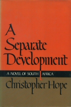 A Separate Development Christopher Hope