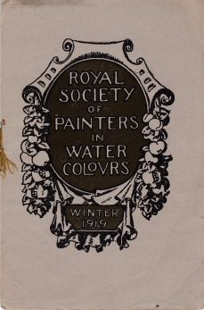 Winter Exhibition 1919  Royal Society of Painters in Water Colours